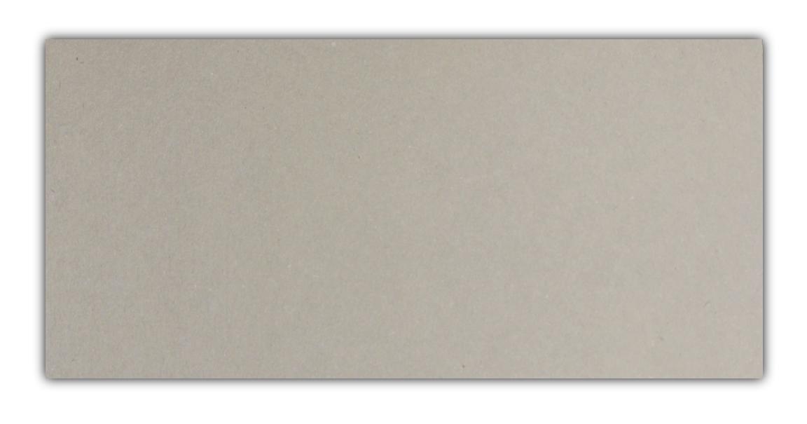 100 Stück Graukarton 0,5mm DIN lang