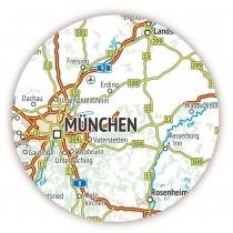 Deutschlandkarte Format Din A2 420 X 594mm Drucksachenversand