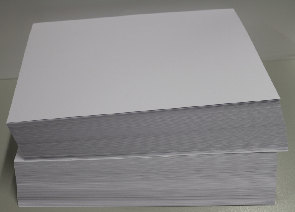 50 Blatt Karteikarten DIN A7 400g/m² weiß blanko
