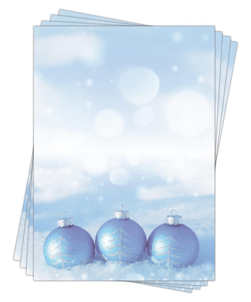 Motivpapier Weihnachten.Motivpapier Briefpapier Weihnachten 5182 Din A4 25 Blatt