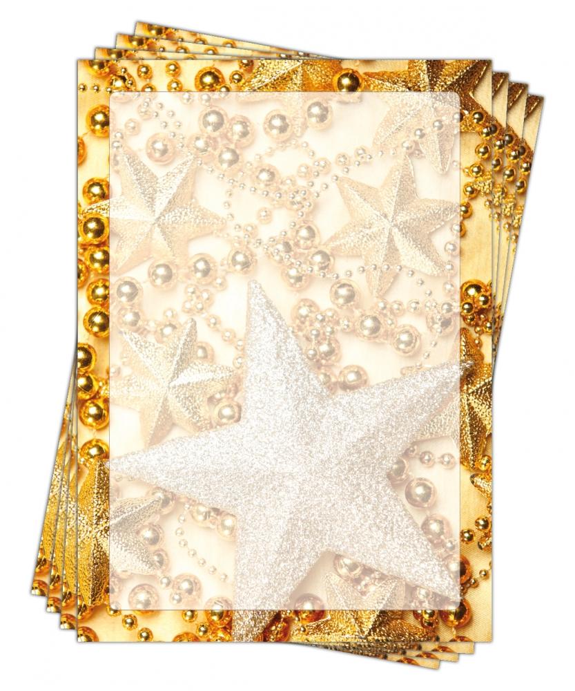 Motivpapier Weihnachten.Motivpapier Briefpapier Weihnachten 5183 Din A4 25 Blatt