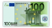 Poster 100 Euro Note
